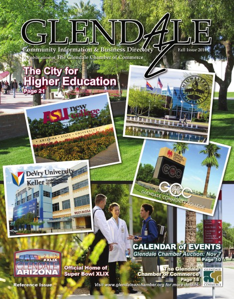 Glendale AZ: Community Information & Business Directory Fall Issue 2014