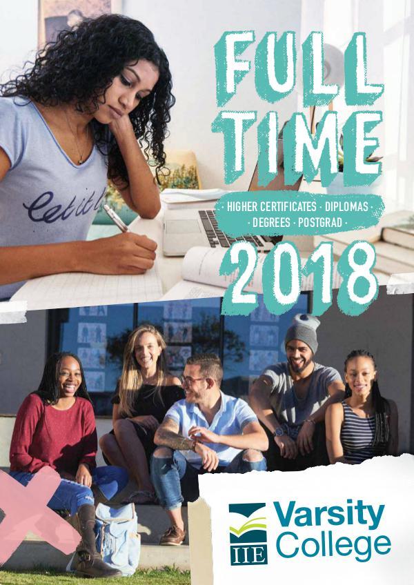 Varsity College Full-time Brochure 41755VC_Full-time_Brochure_20172018_LR (1)
