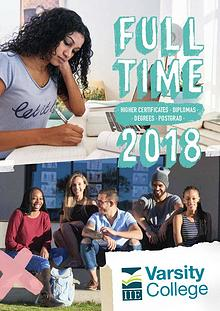 Varsity College Full-time Brochure