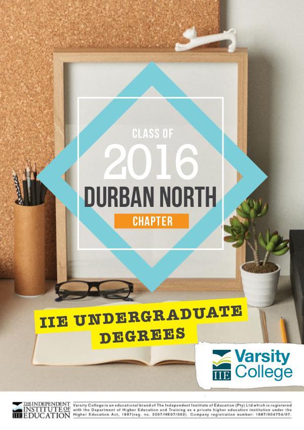 Varsity College DBN NORTH Yearbook DBN NORTH Yearbook