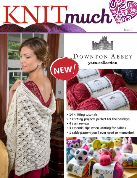 KNITmuch Issue 1