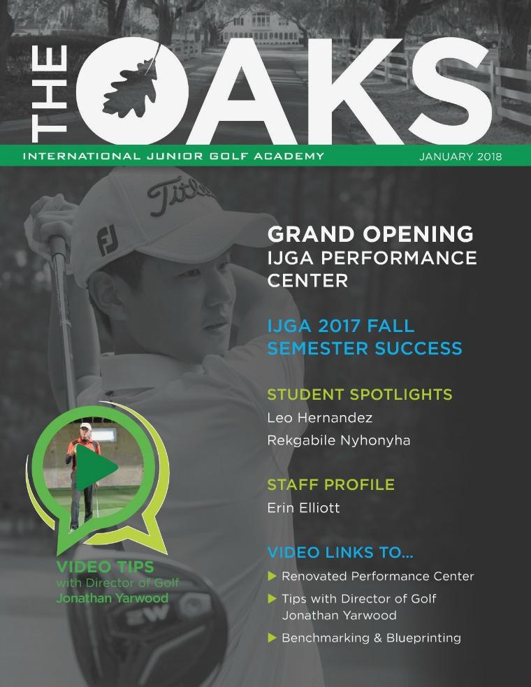 IJGA Newsletter: The Oaks January 2018