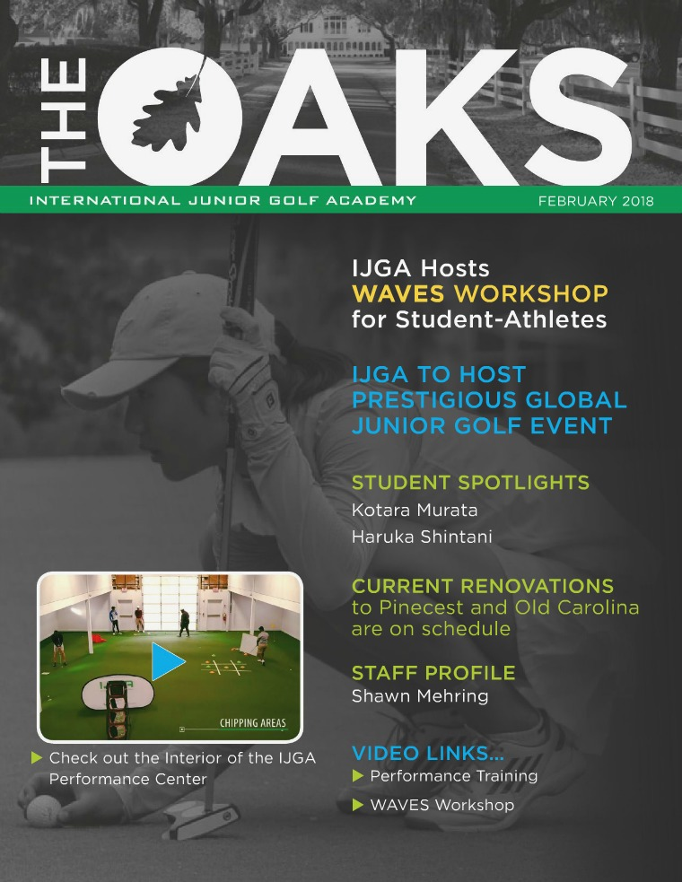 IJGA Newsletter: The Oaks February 2018