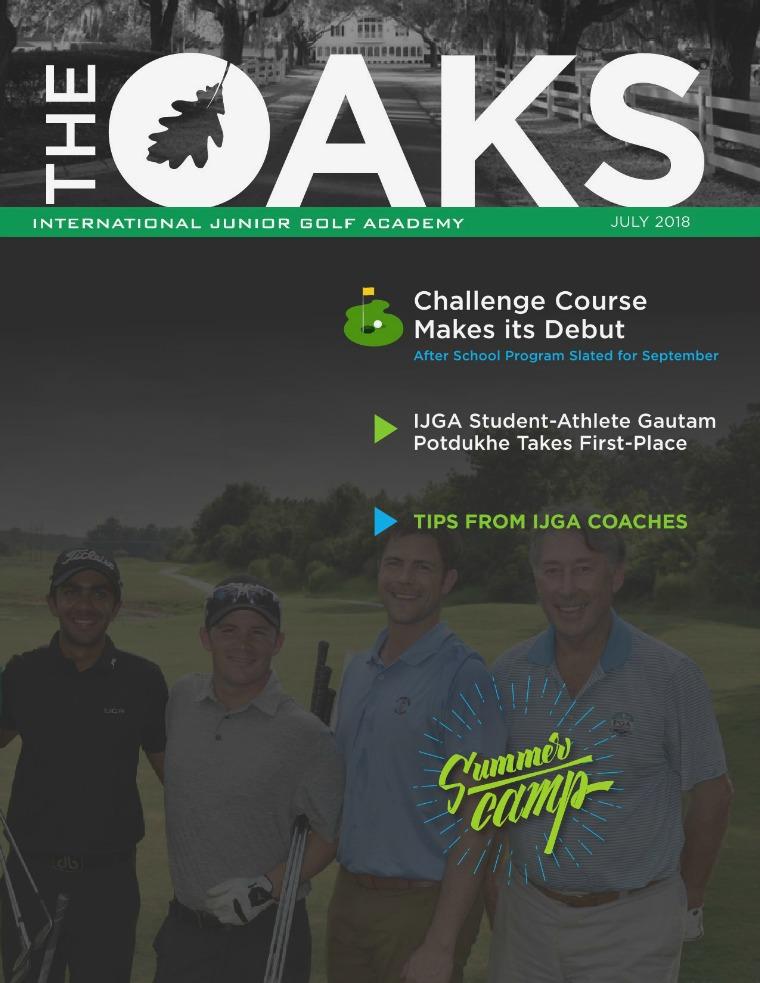 IJGA Newsletter: The Oaks July 2018