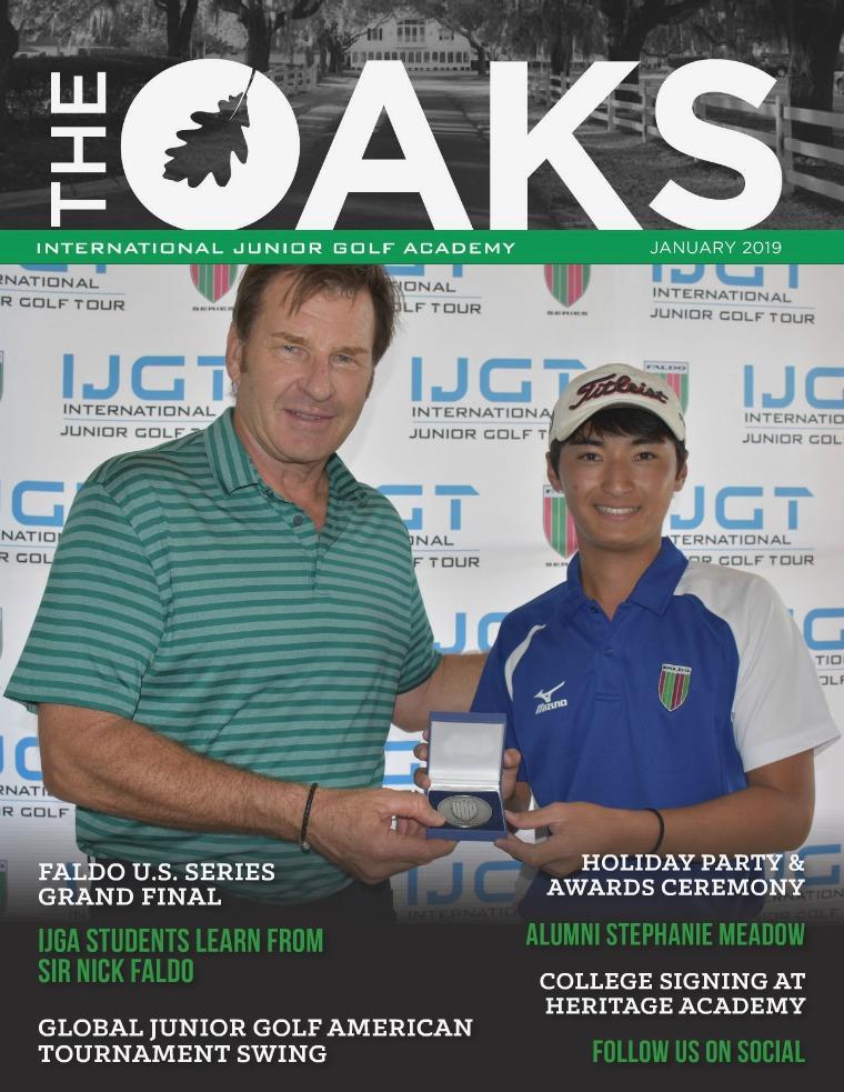 IJGA Newsletter: The Oaks January 2019