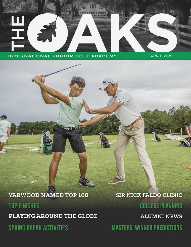 IJGA Newsletter: The Oaks April 2019