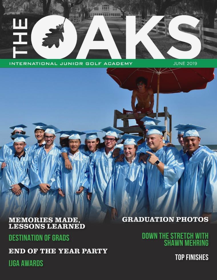 IJGA Newsletter: The Oaks June 2019