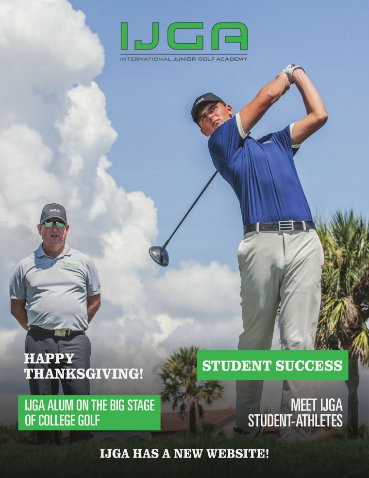 IJGA Newsletter: The Oaks November 2019