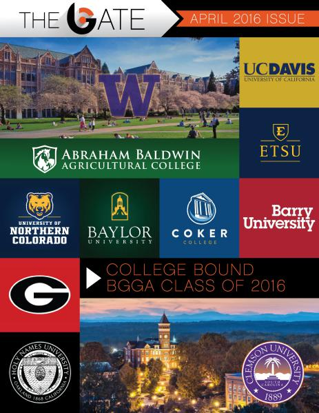 Class of 2016 College Edition