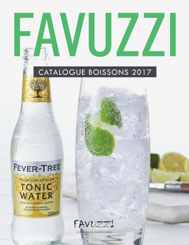 Catalogue de boissons Favuzzi 2017 Magazine de Boissons 2017