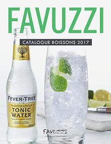 Catalogue de boissons Favuzzi 2017