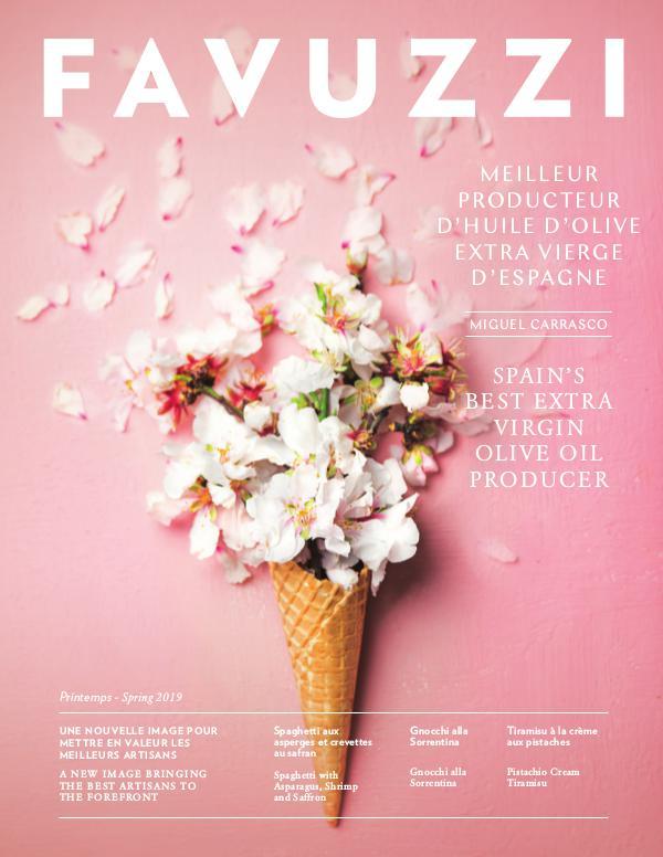 Magazine Favuzzi Spring - Printemps 2019