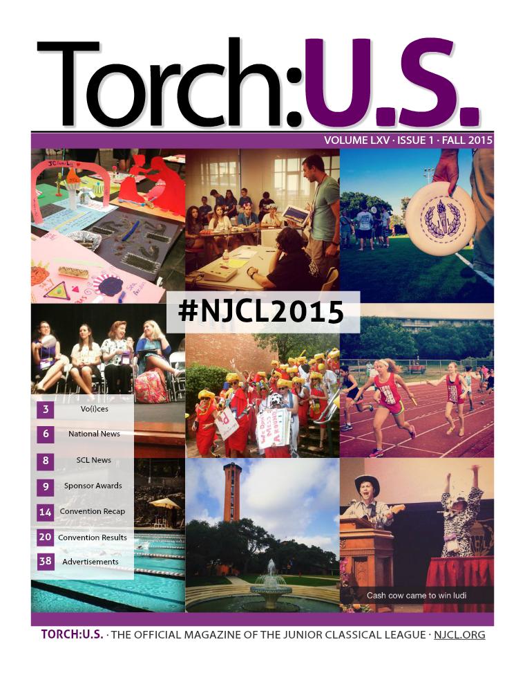 Torch:U.S. Volume LXV Fall 2015