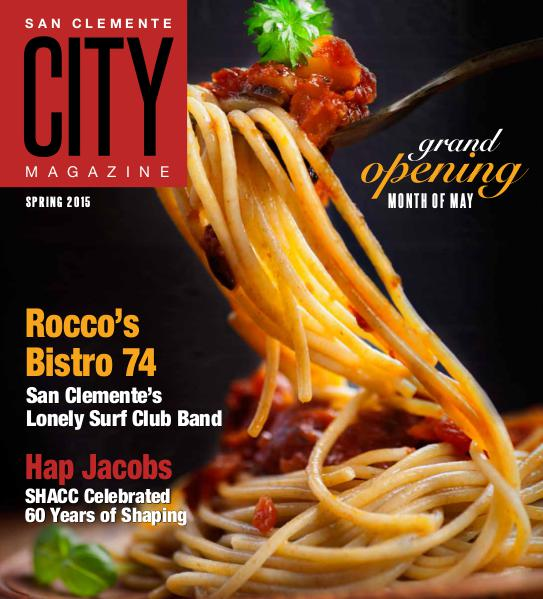 San Clemente City Magazine Spring 2015