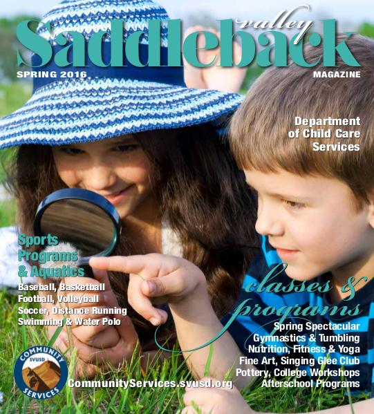 Saddleback Valley Magazine Spring 2016