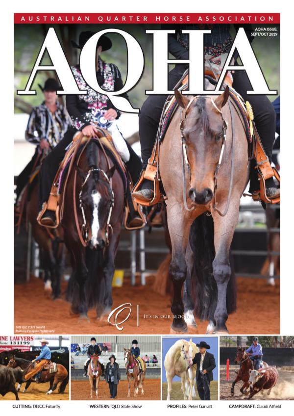 AQHA Magazine September / October 2019 AQHA Sept-Oct 2019 WEB