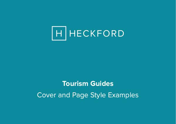 Heckford: Tourism Guide Examples Tourism Guide Examples