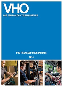 VHO Telemarketing Service Brochure