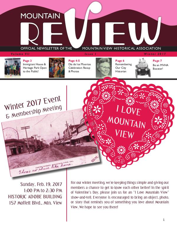 The Mtn. ReView Winter 2017