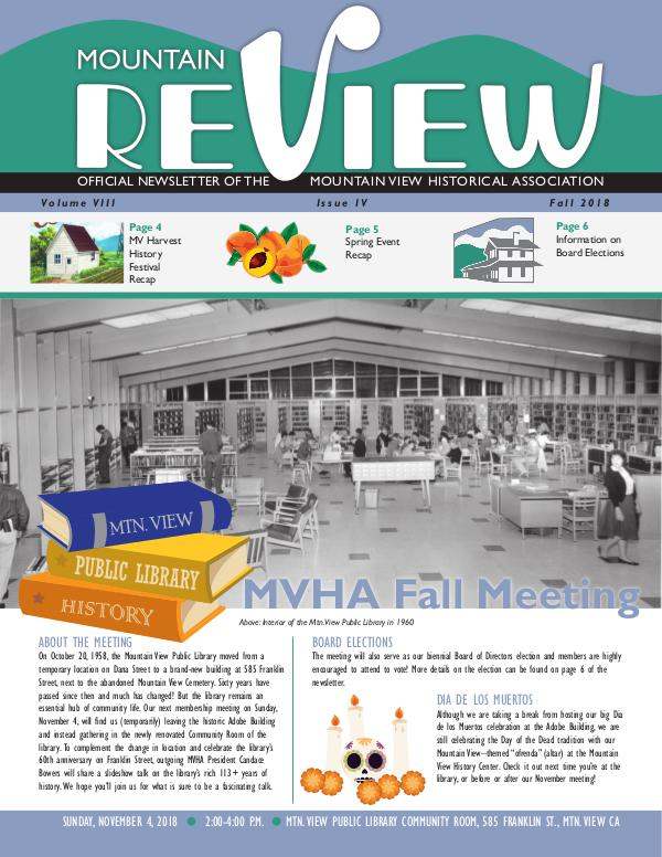 The Mtn. ReView Fall 2018