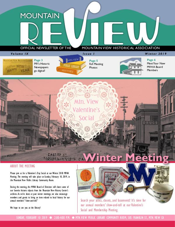 The Mtn. ReView Winter 2019