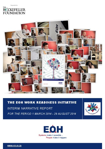 EOH Work Readiness Initiative - Narrative Reports 2014 - 2015 Aug. 2014