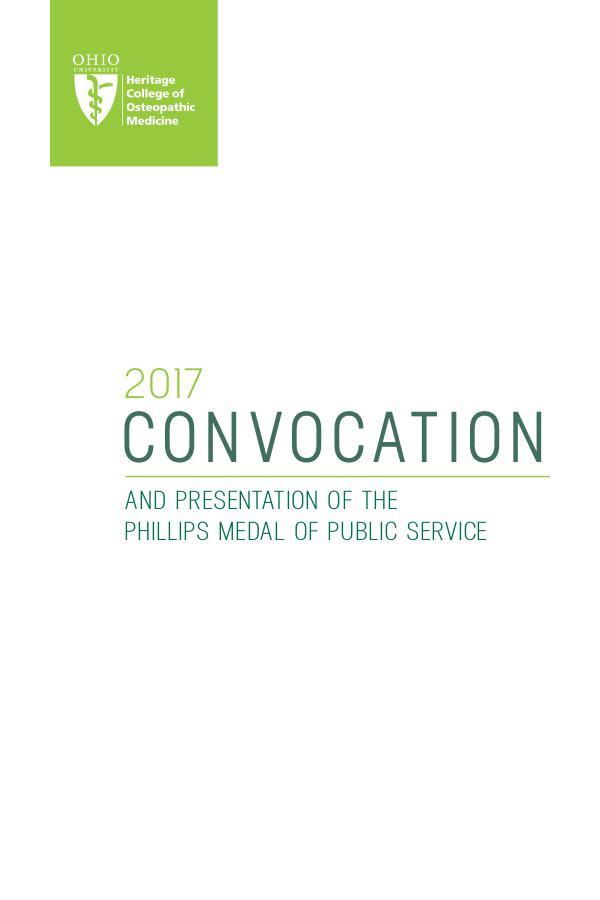 Convocation 2017