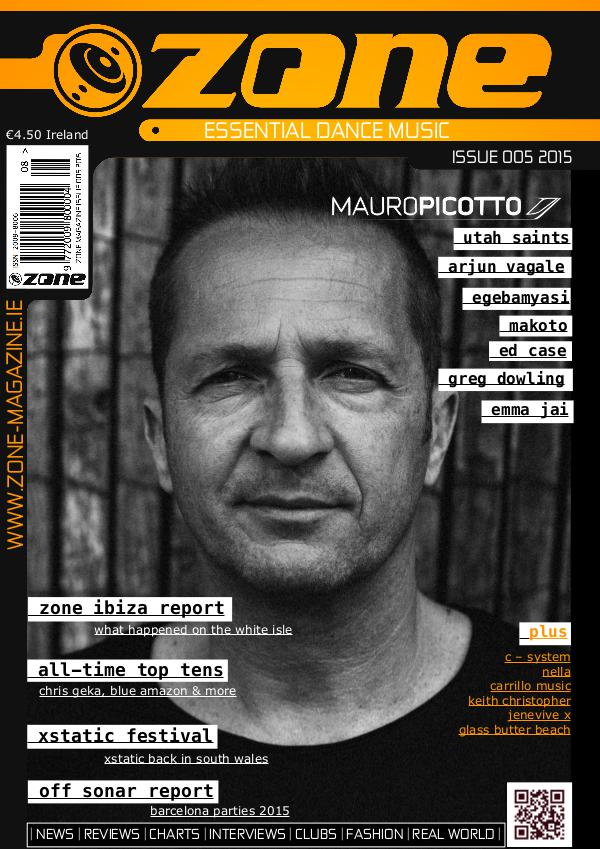 Zone Magazine Issue 005 2015