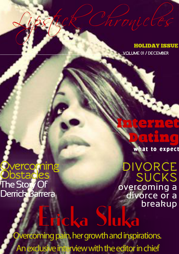 Lipstick Chronicles Volume 1 Issue 1 - Holiday Issue