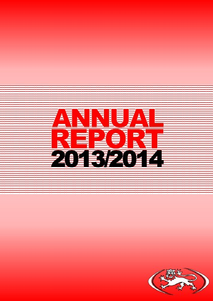 England Touch Association - Annual Report 2014 England Touch Association - Annual Report 2014