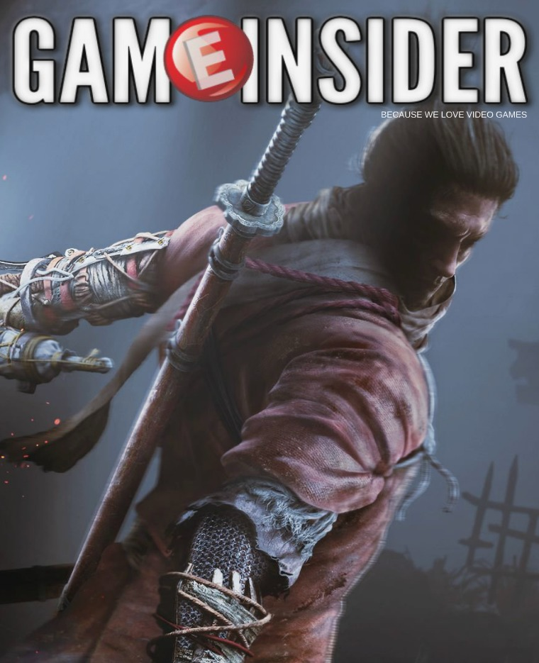 Game Insider October 2018 Sekiro: Shadows Die Twice Cover