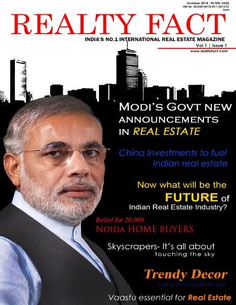Realty fact International Real Estate Magazine India October 2014.pdf Oct/Nov. 2014