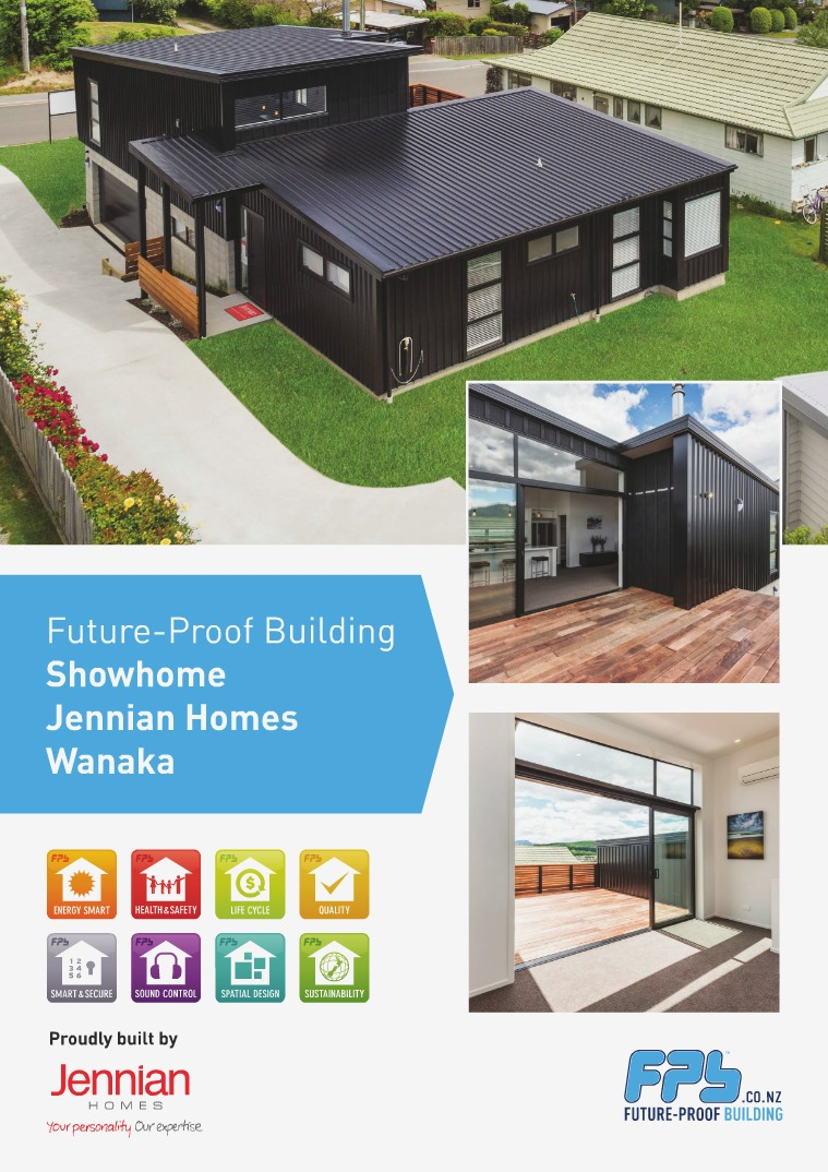 Future-Proof Building Showhomes Wanaka Showhome built by Jennian Homes