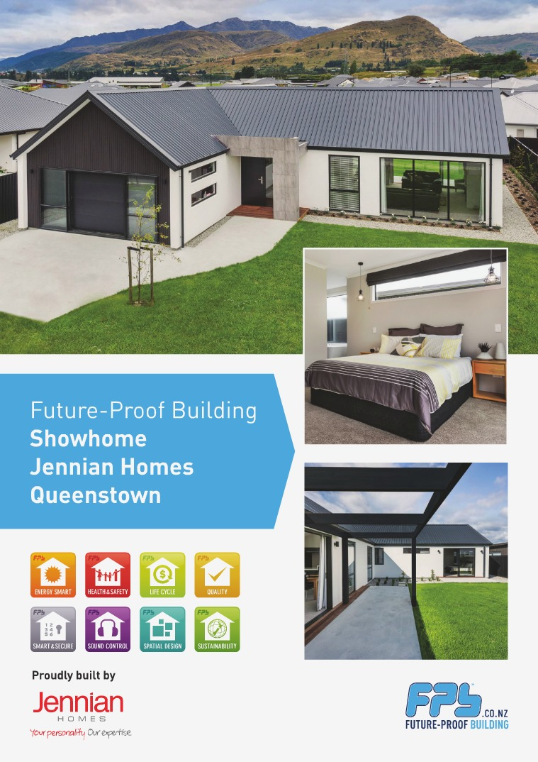 Future-Proof Building Showhomes Queenstown Showhome built by Jennian Homes