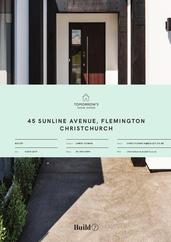 Tomorrow's Show Homes 45 Sunline Ave, Flemington CHRISTCHURCH
