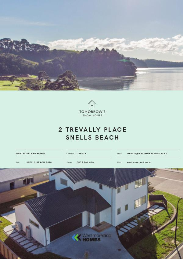 Tomorrow's Show Homes 2 Trevally Place, Snells Beach