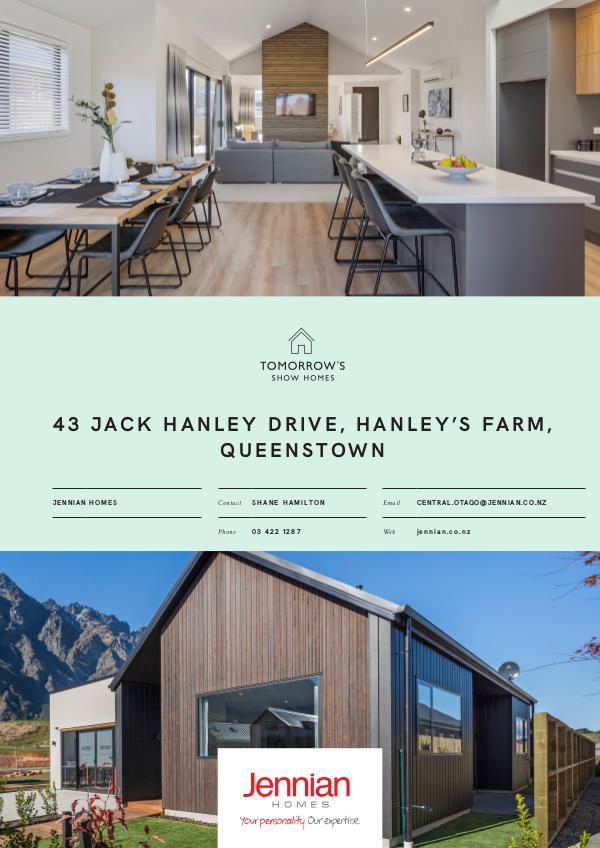 43 Jack Hanley Drive, Hanley's Farm, QUEENSTOWN