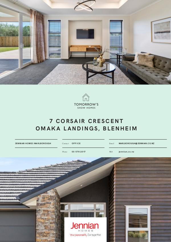 7 Corsair Crescent, BLENHEIM