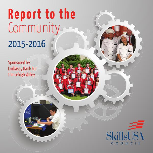 Annual Report 2015-2016 Report to the Community