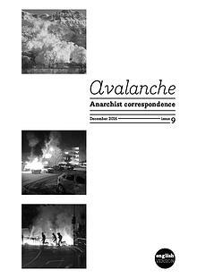 Avalanche - The Anarchist correspondence zine