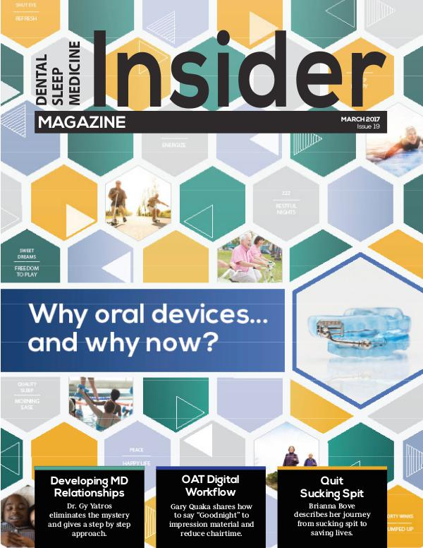 Dental Sleep Medicine Insider March 2017