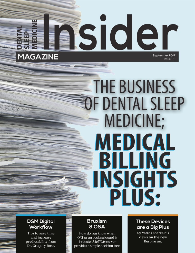 Dental Sleep Medicine Insider September 2017