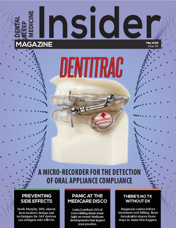Dental Sleep Medicine Insider May 2018