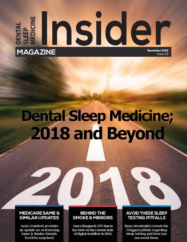 November 2018 DSM Insider 29