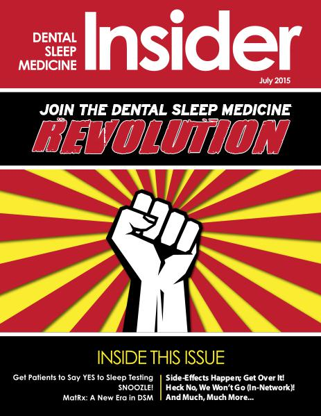 Dental Sleep Medicine Insider July 2015