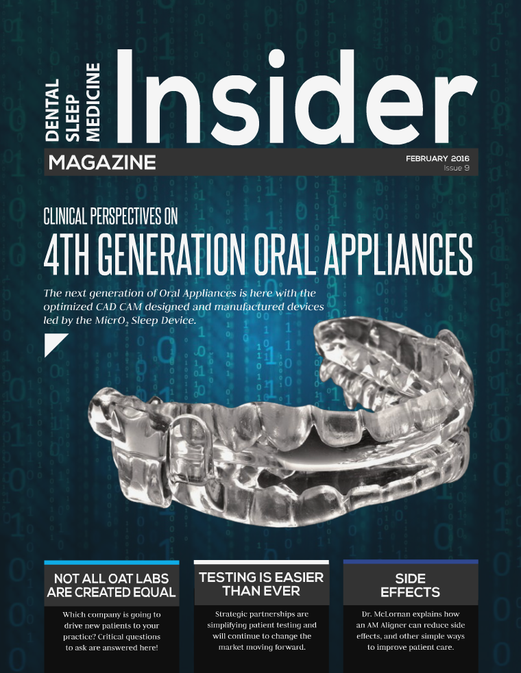 Dental Sleep Medicine Insider February 2016