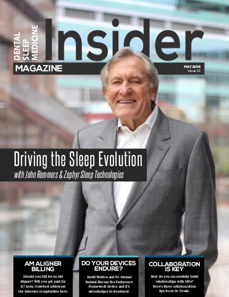 Dental Sleep Medicine Insider May 2016