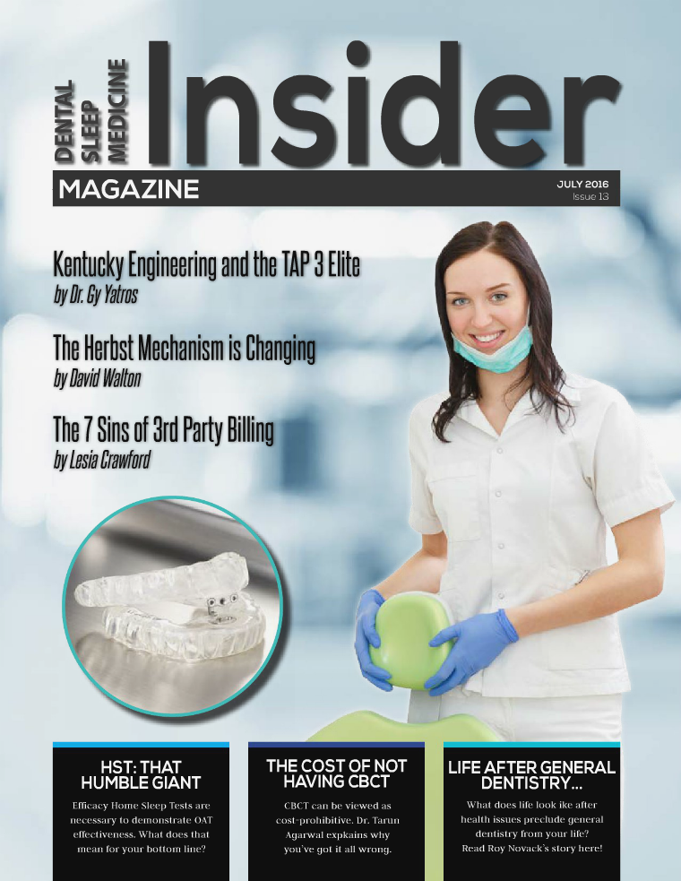 Dental Sleep Medicine Insider July 2016