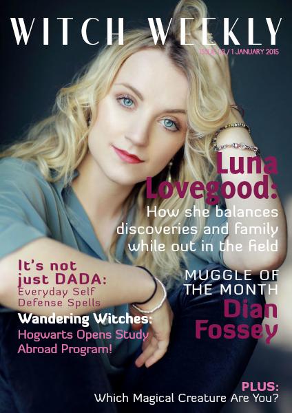 Witch Weekly Magazine January 2015