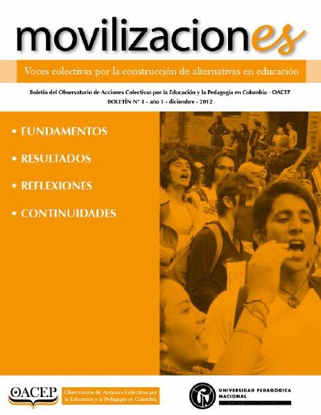 Boletin #1, movilizaciones Oct. 2014